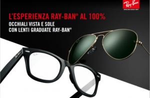 occhiali ray ban con lenti da vista
